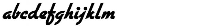 Gillies Gothic Pro ExtraBold Font LOWERCASE