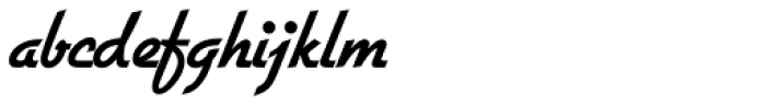 Gillies Gothic SB Bold Font LOWERCASE
