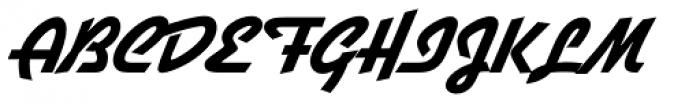 Gillies Gothic SB ExtraBold Font UPPERCASE