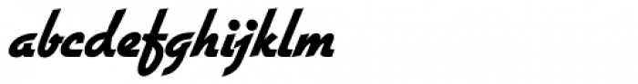 Gillies Gothic SB ExtraBold Font LOWERCASE