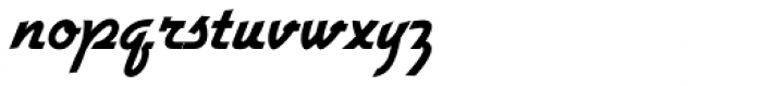 Gillies Gothic Std Bold Font LOWERCASE