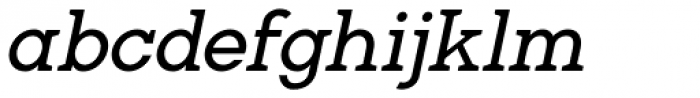 Gilmour Italic Font LOWERCASE
