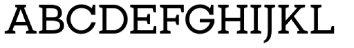 Gilmour Font UPPERCASE