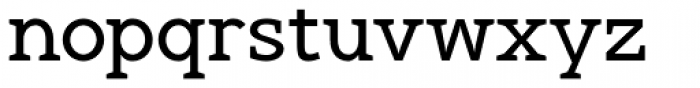 Gilmour Font LOWERCASE