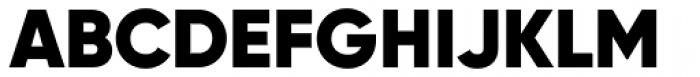 Gilroy Black Font UPPERCASE