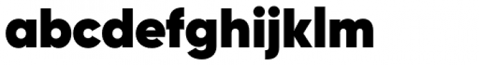 Gilroy Heavy Font LOWERCASE