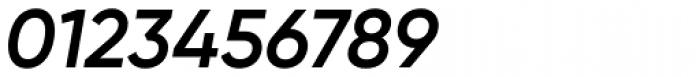 Gilroy Semi Bold Italic Font OTHER CHARS