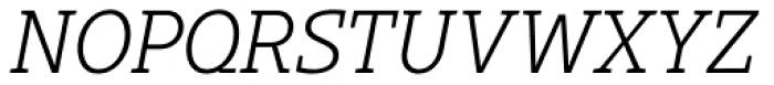 Gimbal Egyptian Book Italic Font UPPERCASE
