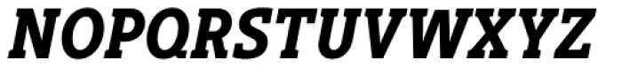 Gimbal Egyptian Condensed Bold Italic Font UPPERCASE
