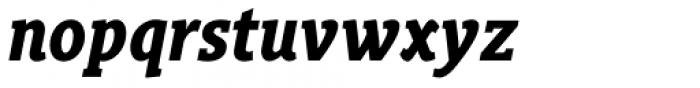Gimbal Egyptian Condensed Bold Italic Font LOWERCASE