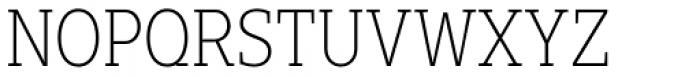 Gimbal Egyptian Condensed Light Font UPPERCASE