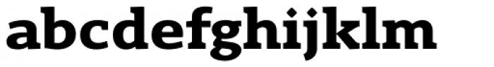 Gimbal Egyptian Extended Bold Font LOWERCASE