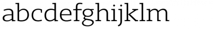 Gimbal Egyptian Extended Book Font LOWERCASE