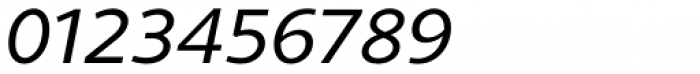 Gimbal Grotesque Extended Italic Font OTHER CHARS