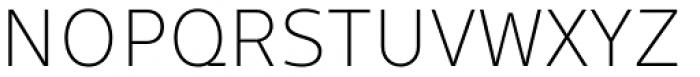 Gimbal Grotesque Light Font UPPERCASE