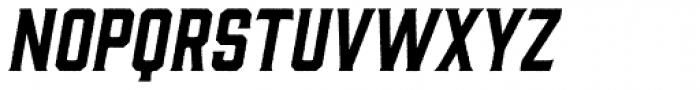 Gin Rough Oblique Font LOWERCASE