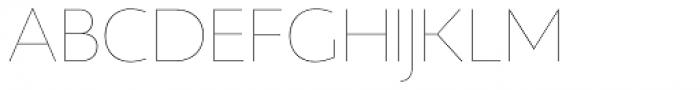 Gina Thin Font UPPERCASE