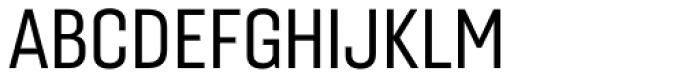 Gineso Condensed Regular Font UPPERCASE