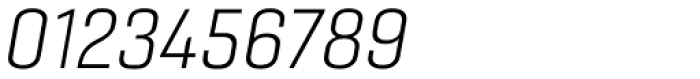 Gineso Extended Light Italic Font OTHER CHARS