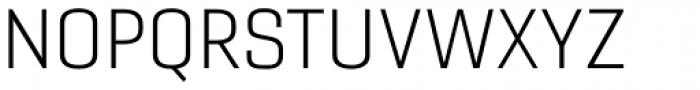 Gineso Extended Light Font UPPERCASE