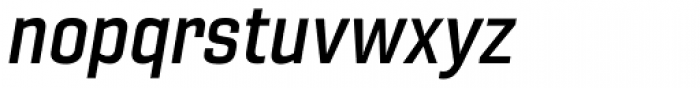 Gineso Normal Demi Italic Font LOWERCASE