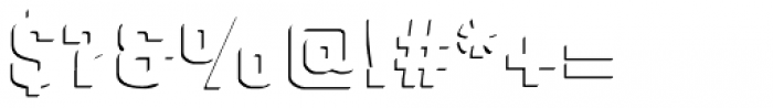 Gineso Titling Accent Black Font OTHER CHARS