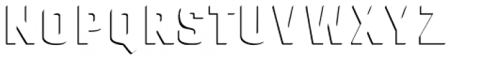 Gineso Titling Accent Black Font LOWERCASE