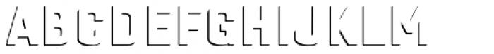 Gineso Titling Accent Bold Font LOWERCASE