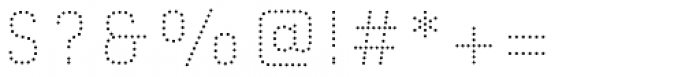 Gineso Titling Dot Black Font OTHER CHARS