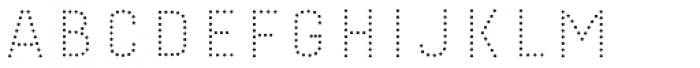 Gineso Titling Dot Black Font LOWERCASE