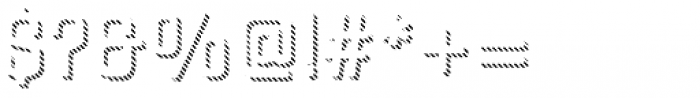 Gineso Titling Line Thin Font OTHER CHARS