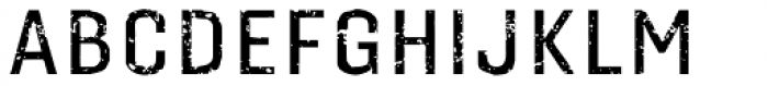 Gineso Titling Rough Medium Font UPPERCASE