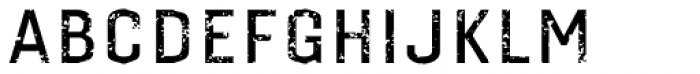 Gineso Titling Rough Medium Font LOWERCASE