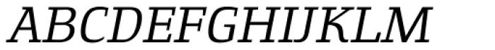 Gingar Book Italic Font UPPERCASE