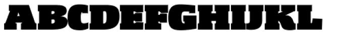 Gingar ExtraBlack Font UPPERCASE