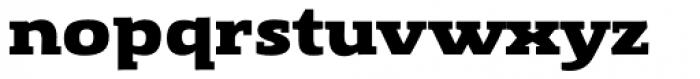 Gingar ExtraBold Font LOWERCASE