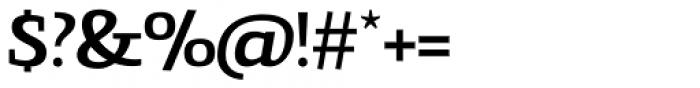 Gingar Medium Font OTHER CHARS