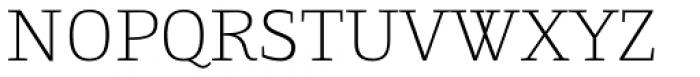 Gingar Thin Font UPPERCASE