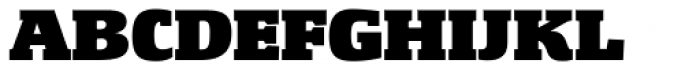 Gingar UltraBlack Font UPPERCASE