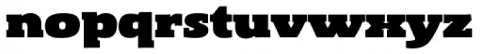 Gingar UltraBlack Font LOWERCASE