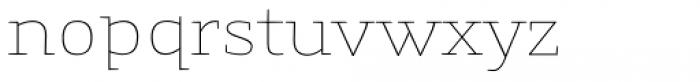 Gingar UltraLight Font LOWERCASE