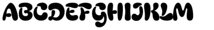 Gingerbread Font UPPERCASE