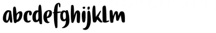 Gingerline Regular Font LOWERCASE
