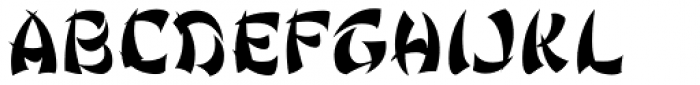 Ginko Regular Font UPPERCASE