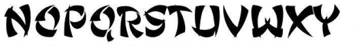 Ginko Regular Font UPPERCASE