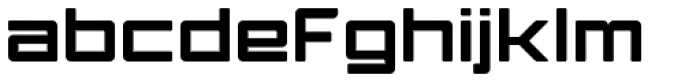 Ginza Heavy Font LOWERCASE