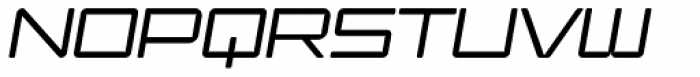 Ginza Light Oblique Font UPPERCASE