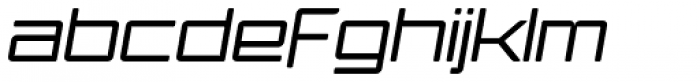 Ginza Light Oblique Font LOWERCASE
