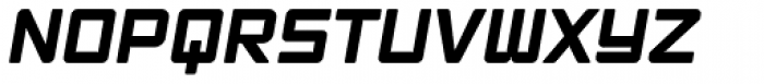 Ginza Narrow HeavyOblique Font UPPERCASE