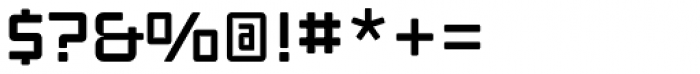 Ginza Narrow Medium Font OTHER CHARS